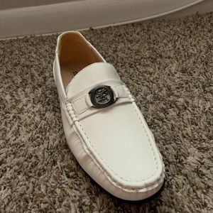 Cream Stacy Adams Loafers